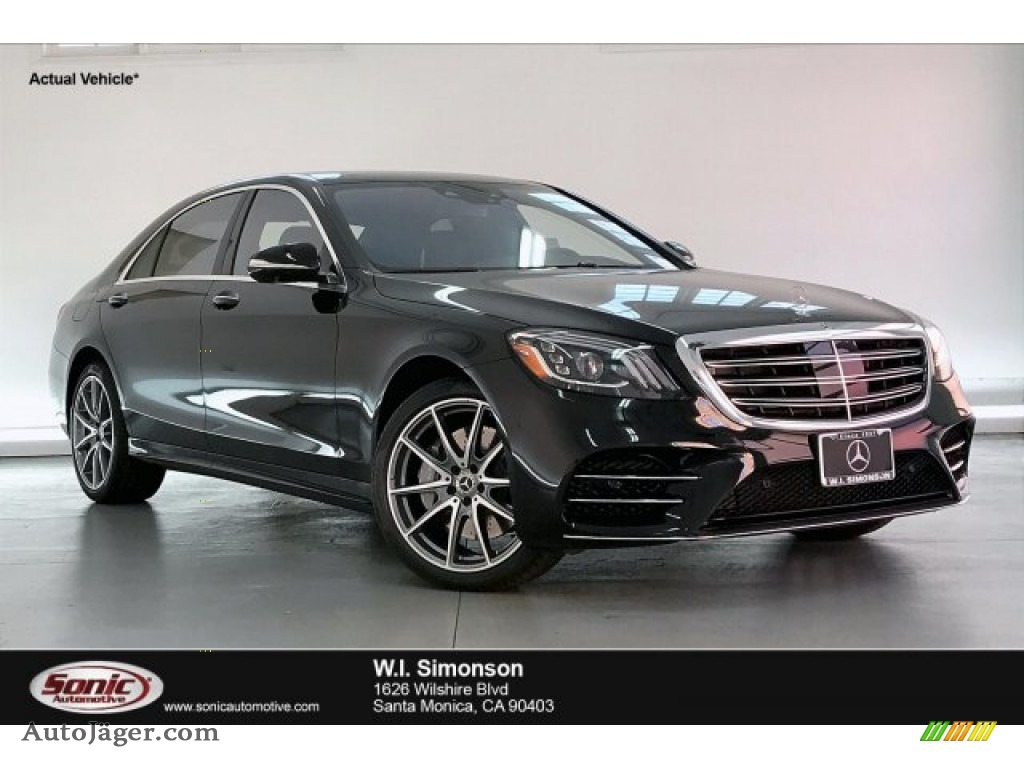 Black / Black Mercedes-Benz S 560 Sedan