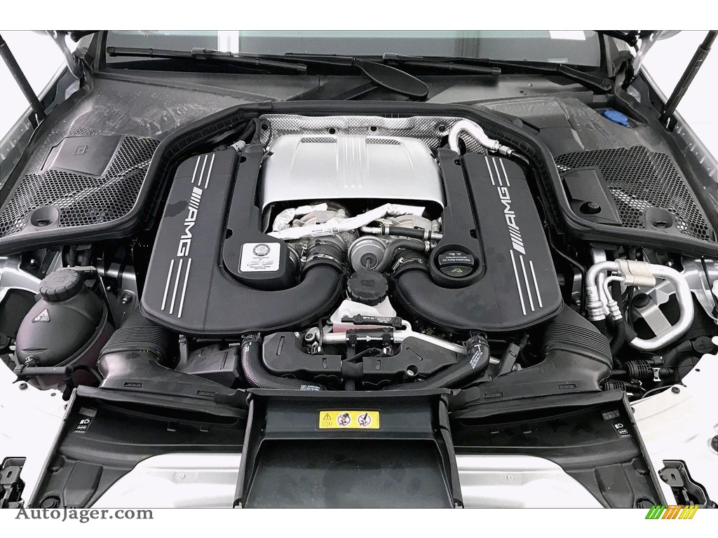 2020 C AMG 63 Sedan - Iridium Silver Metallic / Black photo #9