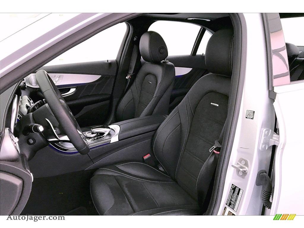 2020 C AMG 63 Sedan - Iridium Silver Metallic / Black photo #14