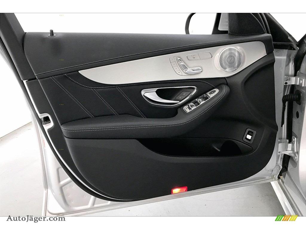 2020 C AMG 63 Sedan - Iridium Silver Metallic / Black photo #25