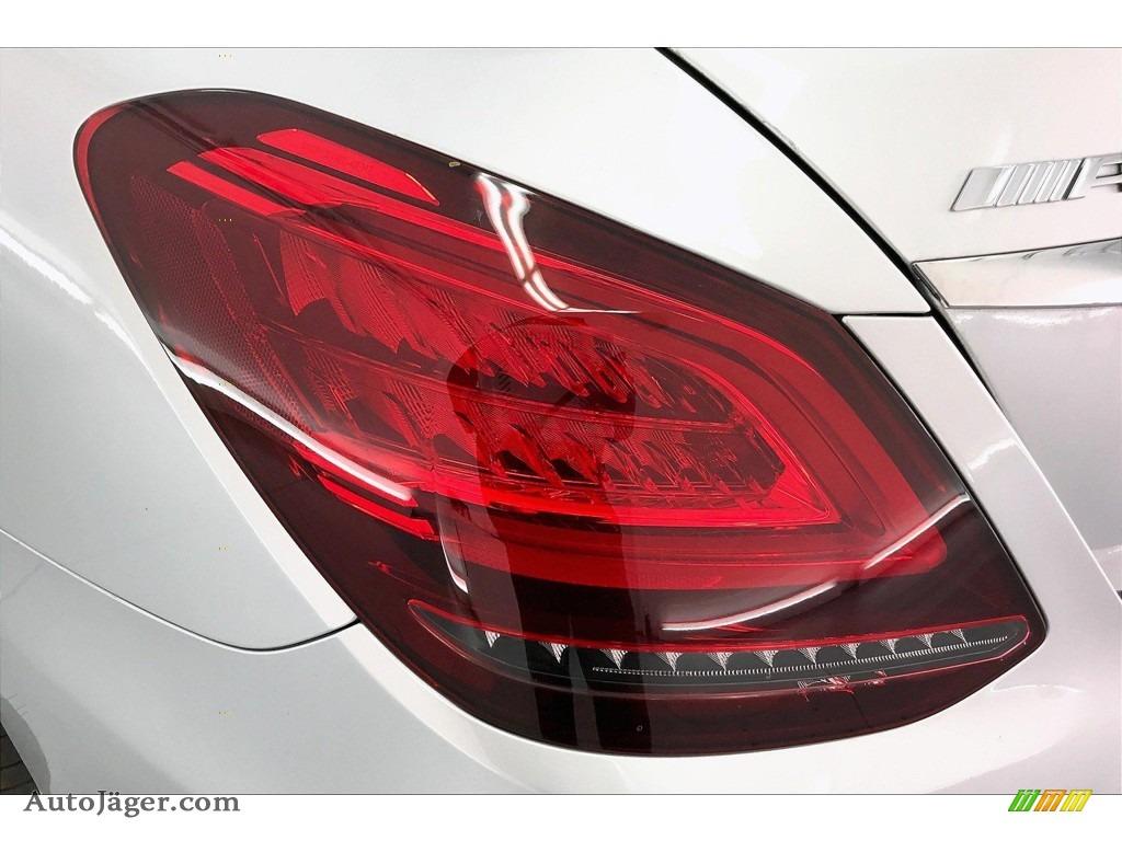 2020 C AMG 63 Sedan - Iridium Silver Metallic / Black photo #26