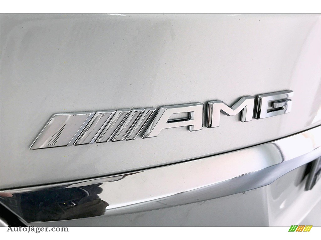 2020 C AMG 63 Sedan - Iridium Silver Metallic / Black photo #27