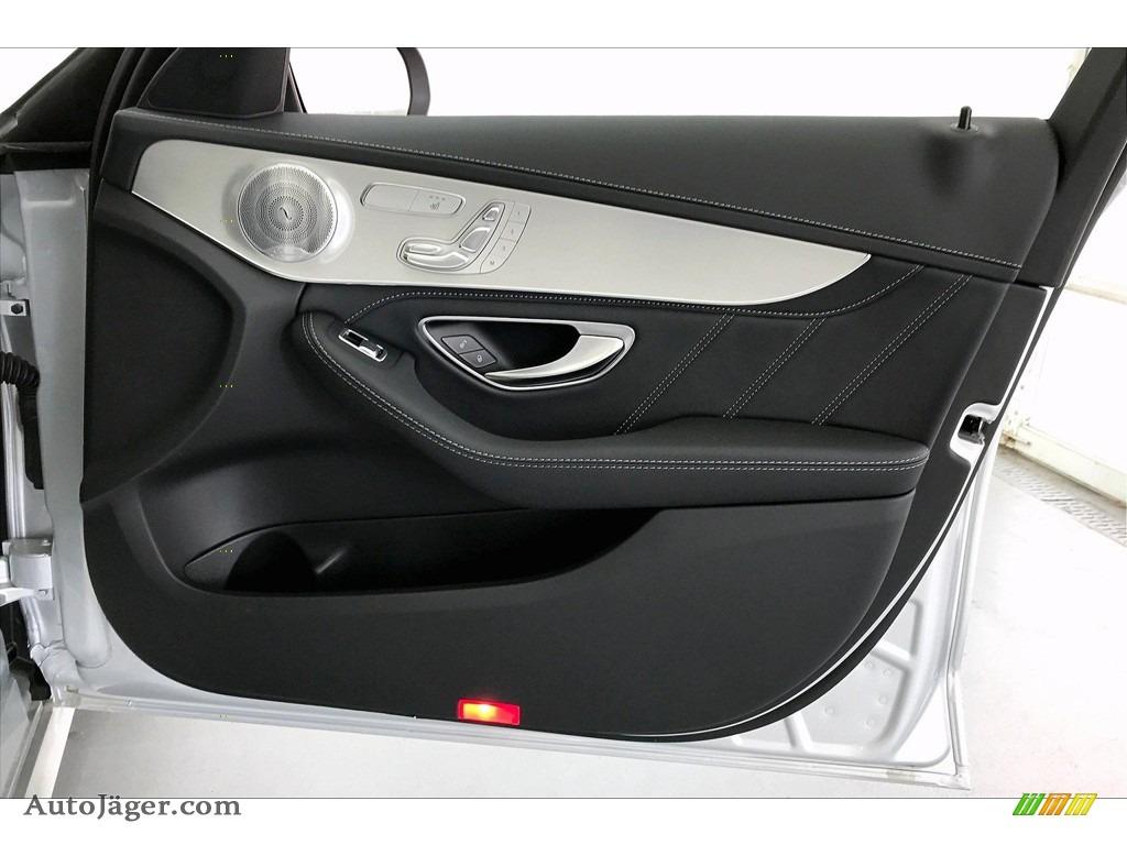 2020 C AMG 63 Sedan - Iridium Silver Metallic / Black photo #30