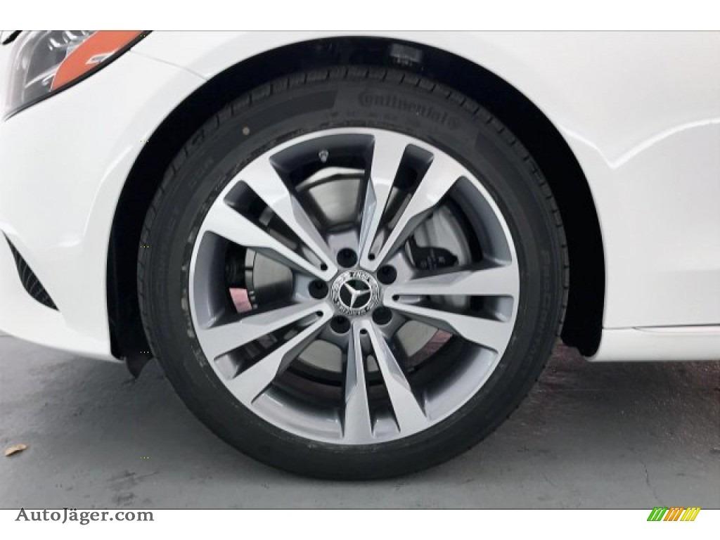 2020 C 300 Sedan - Polar White / Silk Beige/Black photo #8