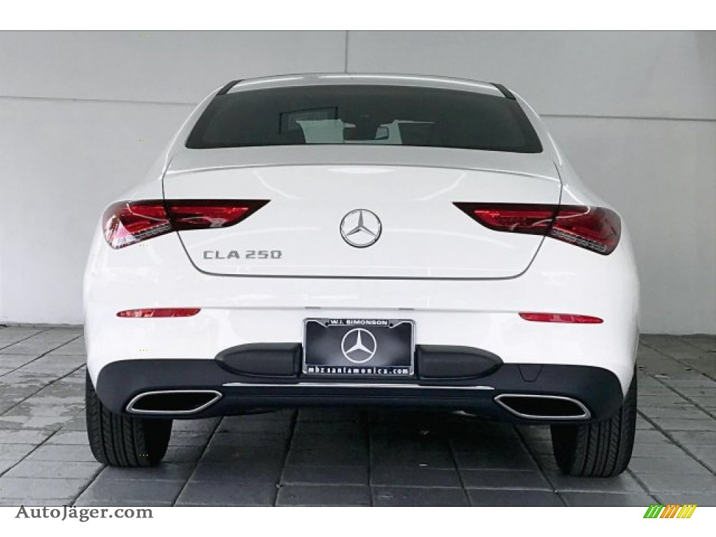 2020 CLA 250 Coupe - Polar White / Black photo #3