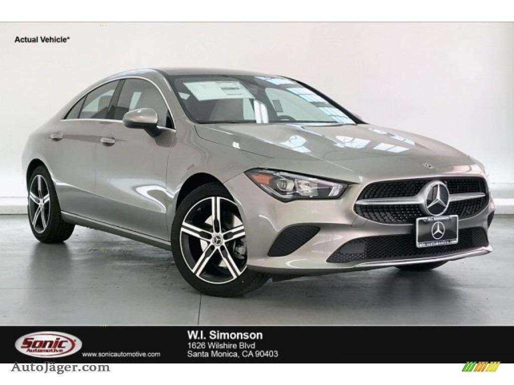 Mojave Silver Metallic / Macchiato Beige Mercedes-Benz CLA 250 Coupe
