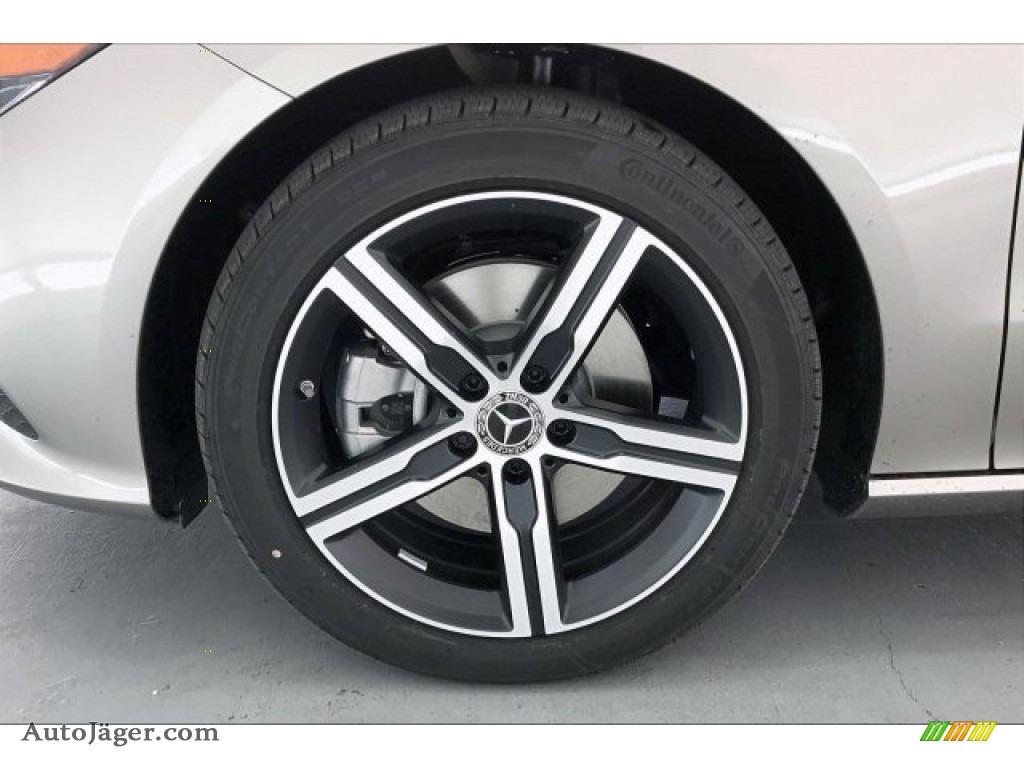 2020 CLA 250 Coupe - Mojave Silver Metallic / Macchiato Beige photo #9