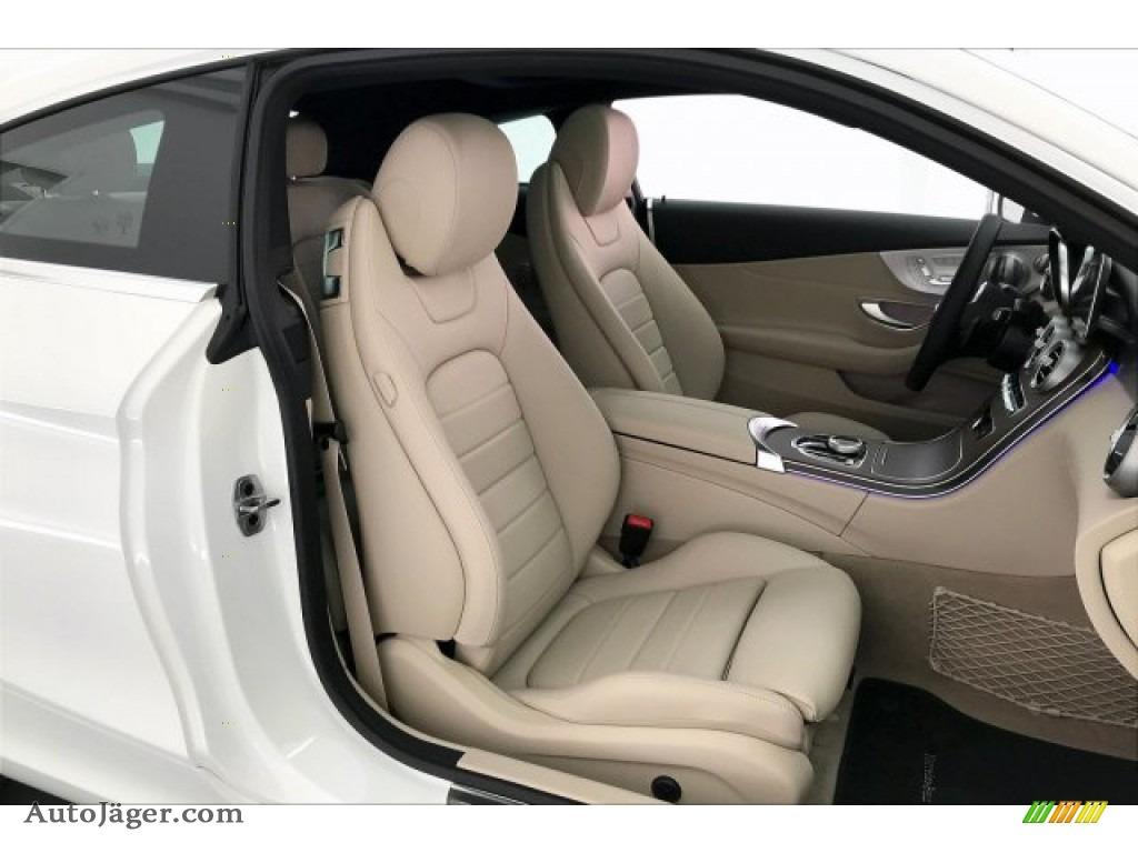 2020 C 300 Coupe - Polar White / Silk Beige/Black photo #5
