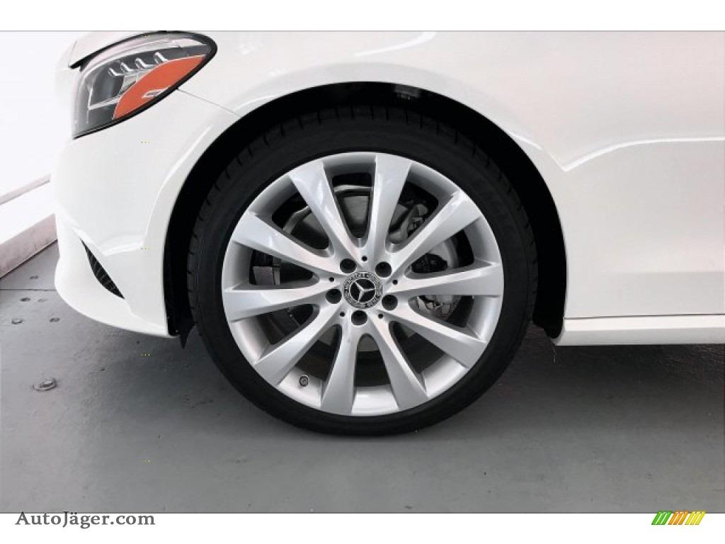 2020 C 300 Coupe - Polar White / Silk Beige/Black photo #8