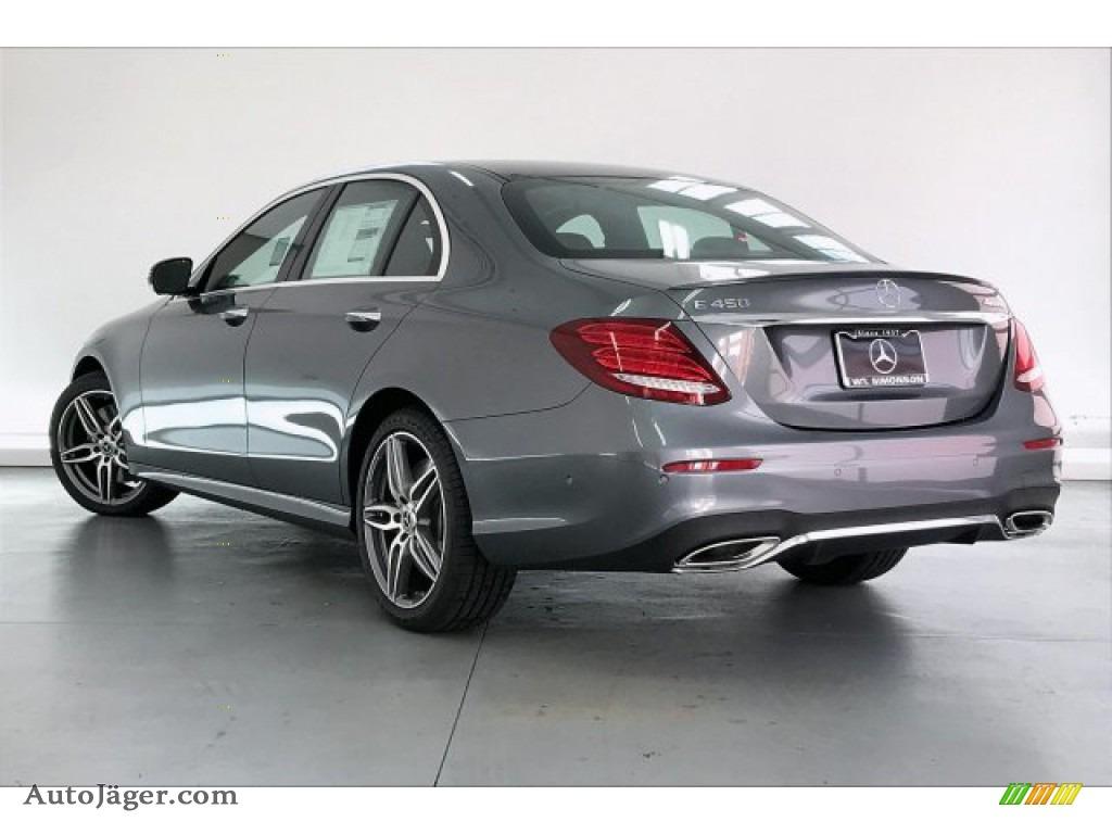 2020 E 450 4Matic Sedan - Selenite Grey Metallic / Black photo #2