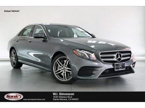 Selenite Grey Metallic 2020 Mercedes-Benz E 450 4Matic Sedan