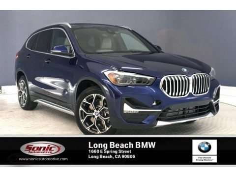 Mediterranean Blue Metallic 2020 BMW X1 xDrive28i