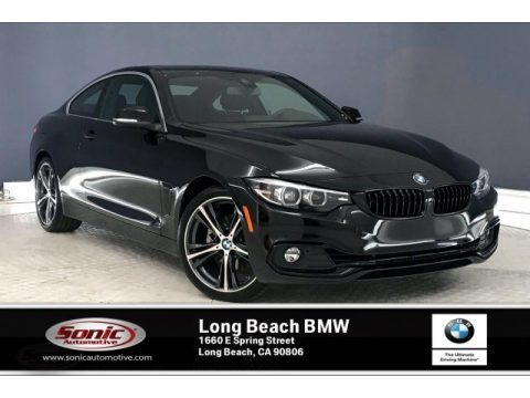 Jet Black 2020 BMW 4 Series 430i Coupe