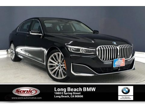 Black Sapphire Metallic 2020 BMW 7 Series 750i xDrive Sedan