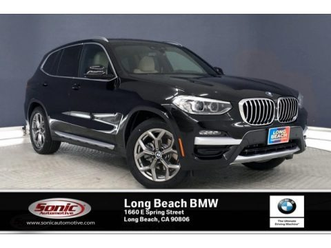 Jet Black 2020 BMW X3 sDrive30i