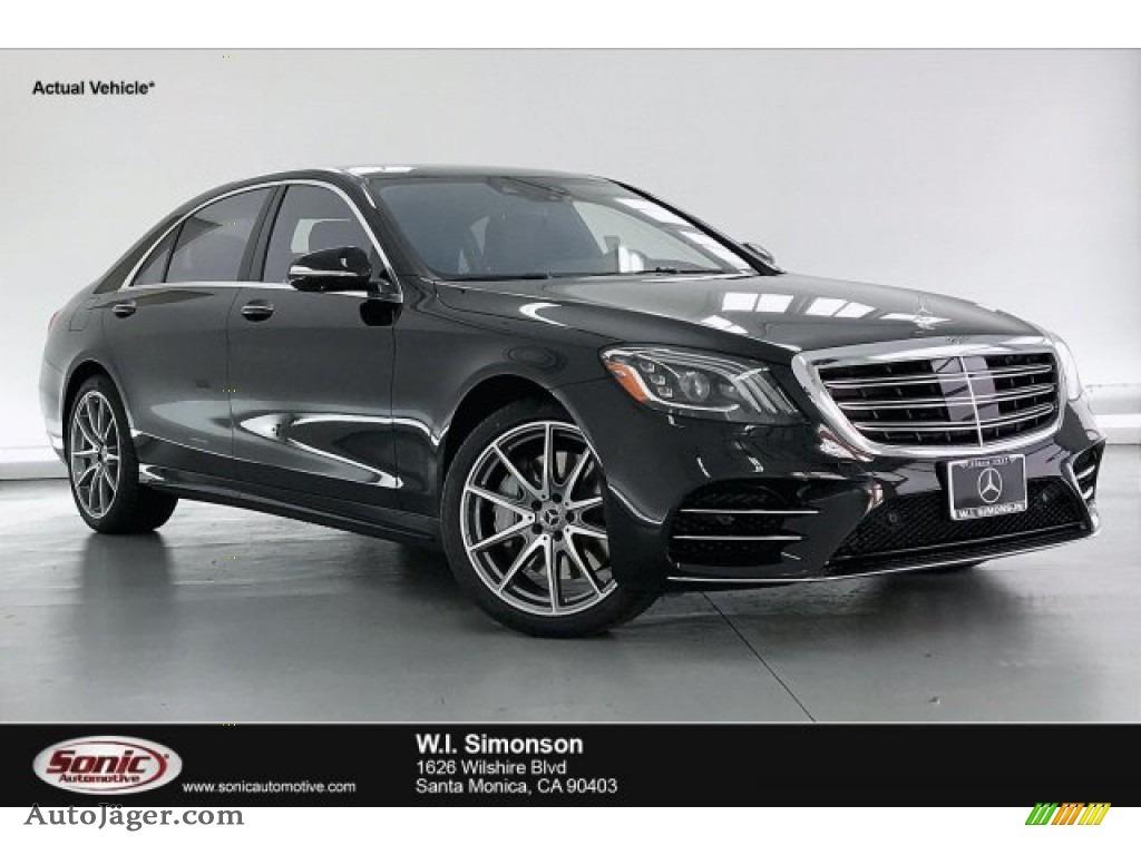 2020 S 560 Sedan - Black / designo Black photo #1