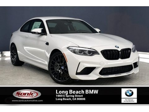 Alpine White 2020 BMW M2 Competition Coupe