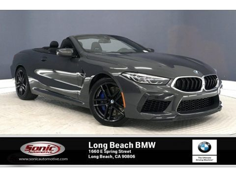 Dravit Grey Metallic 2020 BMW M8 Convertible