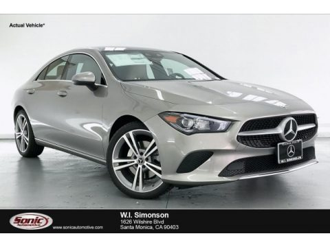 Mojave Silver Metallic 2020 Mercedes-Benz CLA 250 Coupe