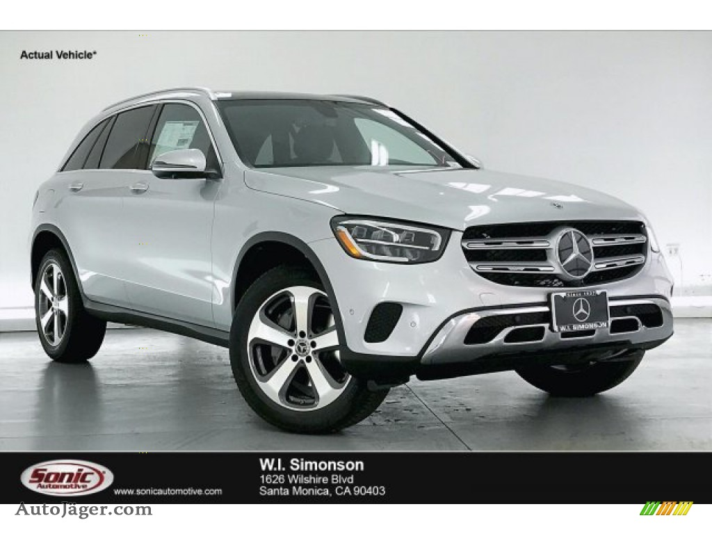 2020 GLC 300 - Iridium Silver Metallic / Black photo #1