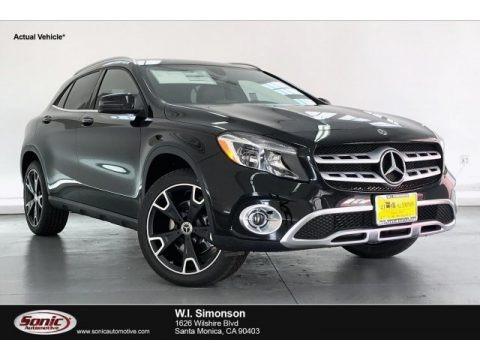 Night Black 2020 Mercedes-Benz GLA 250