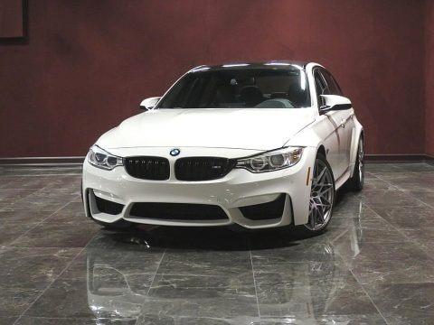 Alpine White 2017 BMW M3 Sedan