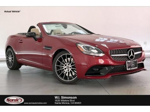 designo Patagonia Red Metallic 2020 Mercedes-Benz SLC 300 Roadster