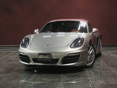 Platinum Silver Metallic 2013 Porsche Boxster S