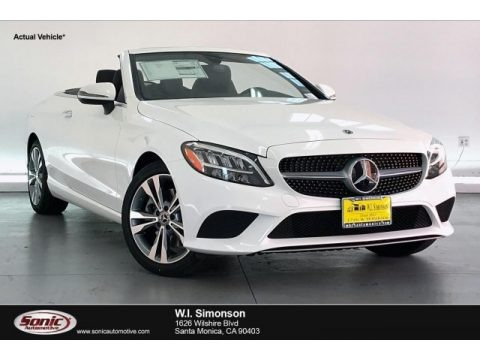 Polar White 2020 Mercedes-Benz C 300 Cabriolet