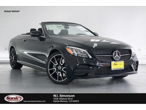 Black 2020 Mercedes-Benz C 300 Cabriolet