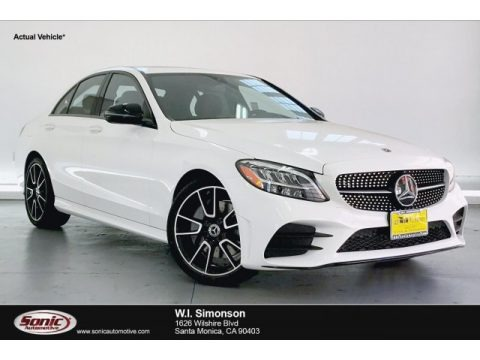 Polar White 2020 Mercedes-Benz C 300 Coupe