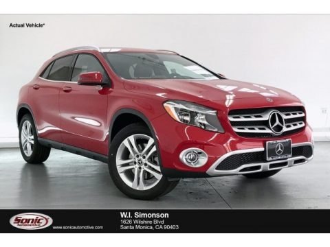 Jupiter Red 2020 Mercedes-Benz GLA 250