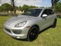 Porsche Cayenne S Classic Silver Metallic photo #1