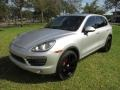 Porsche Cayenne S Classic Silver Metallic photo #55