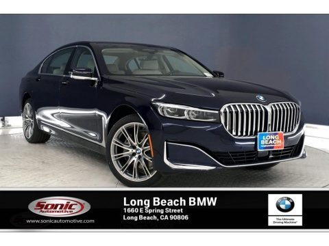 Imperial Blue Metallic 2020 BMW 7 Series 740i Sedan