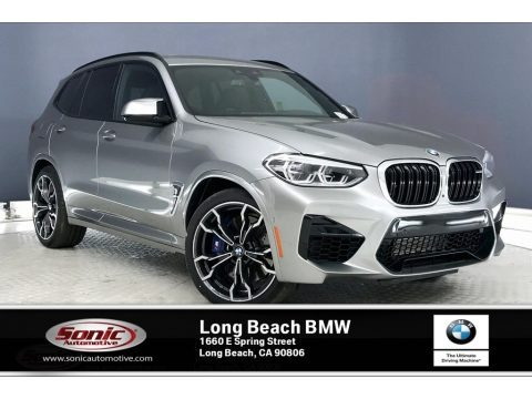 Donington Grey Metallic 2020 BMW X3 M Competition