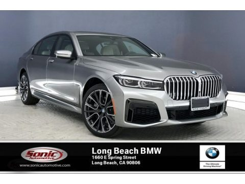 Donington Grey Metallic 2020 BMW 7 Series 740i Sedan