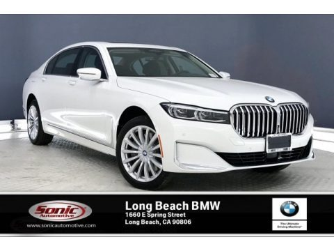 Alpine White 2020 BMW 7 Series 745e xDrive iPerformance Sedan