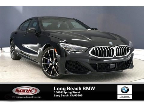 Black Sapphire Metallic 2020 BMW 8 Series 840i Gran Coupe