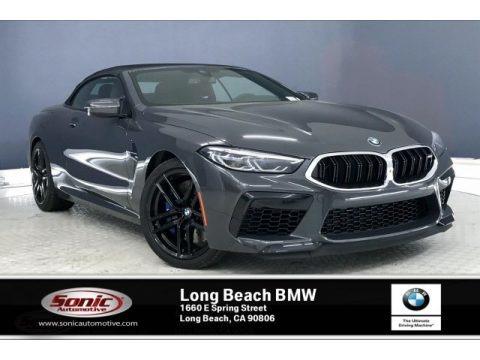 Brands Hatch Grey Metallic 2020 BMW M8 Convertible