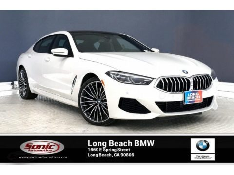Alpine White 2020 BMW 8 Series 840i Gran Coupe