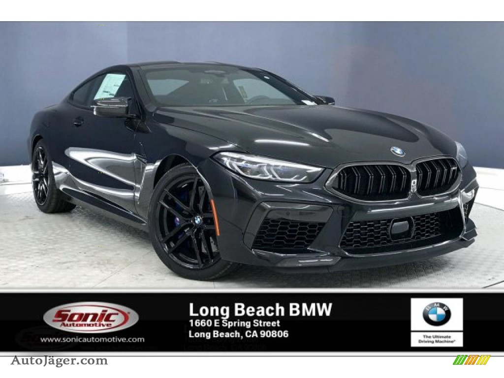 2020 M8 Coupe - Black Sapphire Metallic / Black photo #1