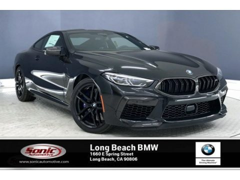 Black Sapphire Metallic 2020 BMW M8 Coupe