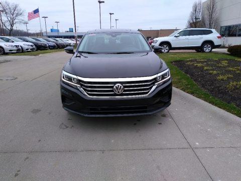 Deep Black Pearl 2020 Volkswagen Passat SE