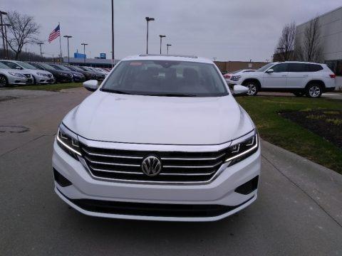 Pure White 2020 Volkswagen Passat SEL