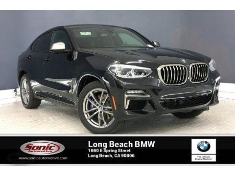 Black Sapphire Metallic 2020 BMW X4 M40i