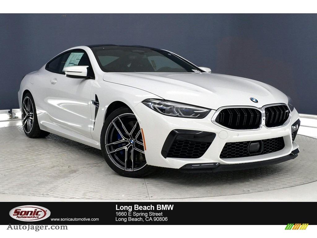 2020 M8 Coupe - Alpine White / Black photo #1