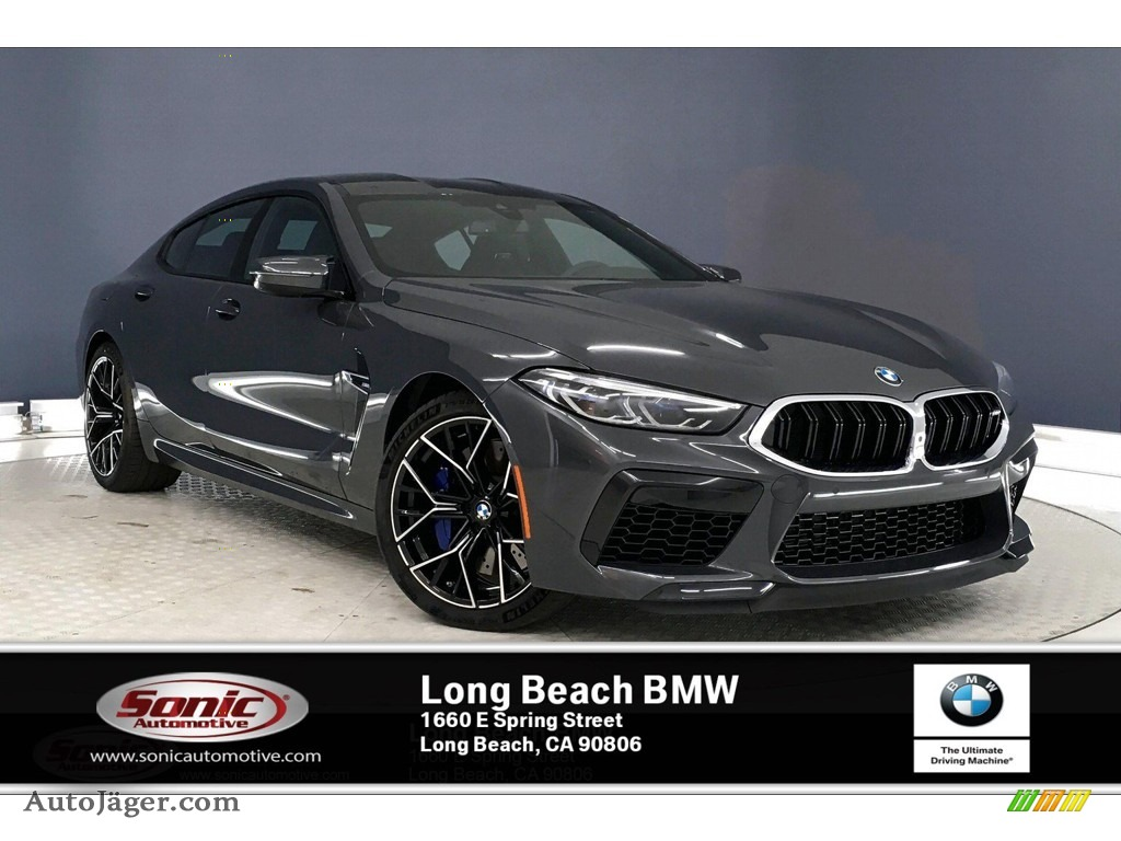2020 M8 Gran Coupe - Brands Hatch Grey Metallic / Black photo #1