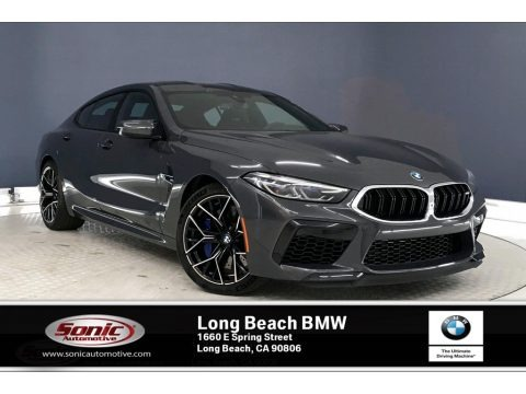 Brands Hatch Grey Metallic 2020 BMW M8 Gran Coupe