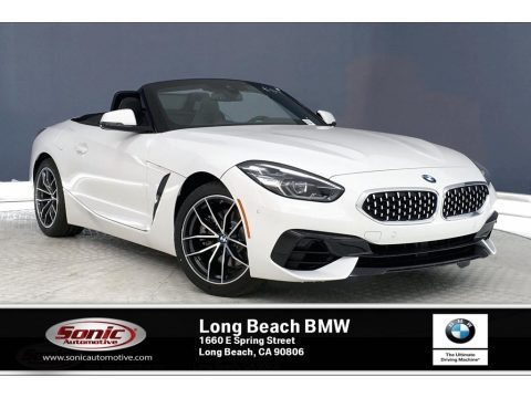 Alpine White 2019 BMW Z4 sDrive30i